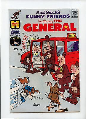 Sad Sack's Funny Friends Featuring the General #69 Silver Age