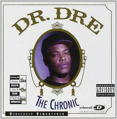 Dr. Dre - The Chronic Audio CD Explicit Version FREE SHIPPING NEW