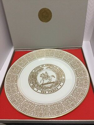 Seal Of The Confederacy, Lenox White House Of The Confederacy Collector Plate