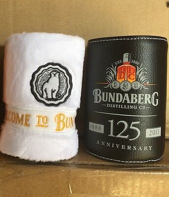 Bundaberg Rum Stubby/Can Coolers X 4 Plus Bonus