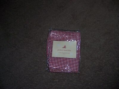 Pottery Barn Kids Holiday treat basket liner one size   new red
