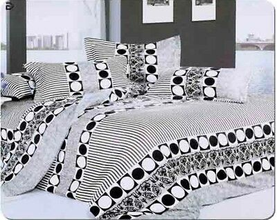 Star Duvet Cover Set, Quilted Cover  Bedding Set With Pillow Cases Fitted Sheet