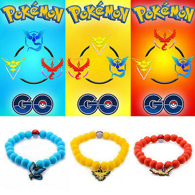 Pokemon Go Gym Team Silicone Wristband Officially Licensed Bracelet