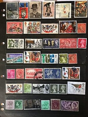 stamps Great Britain - used - lot 646