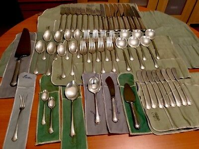 Towle Chippendale Sterling Silver Flatware 54 Piece Set