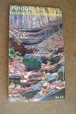 Lot Of 25 Knobstone Trail Folding Maps For Indianas Longest Footpath Free Shippi