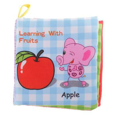 Kids Baby Intelligence Development Cloth Bed Cognize Book Educational Toy