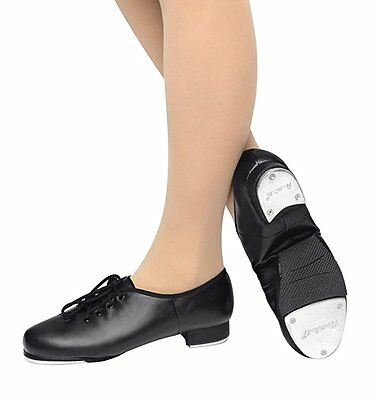 NEW Leos Giordamo black leather tap dancing shoes  5028