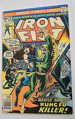 Iron Fist #10 (Marvel 1975 series) Chris Claremont; John Byrne; VG/FN