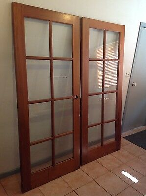 Cedar French Doors  External Colonial Style