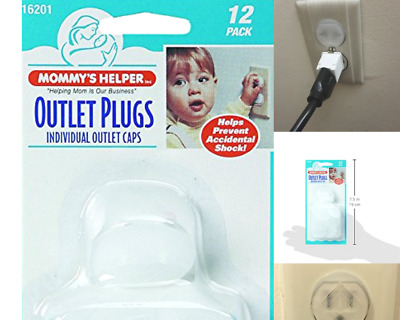 Outlet Plugs Baby Safety Electric Power Socket Protection Cover Mommy's Helper