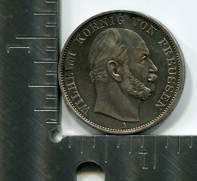Germany Prussia1 ThalerKM# 500Victory over France1871Asilver coin [G05]