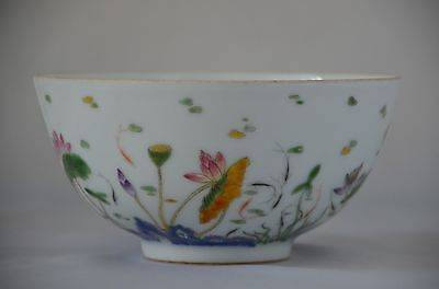 Fine Antique Chinese Famille Rose Porcelain bowl