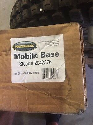 Powermatic 2042376 Mobile Base for 60C,60HH Jointers