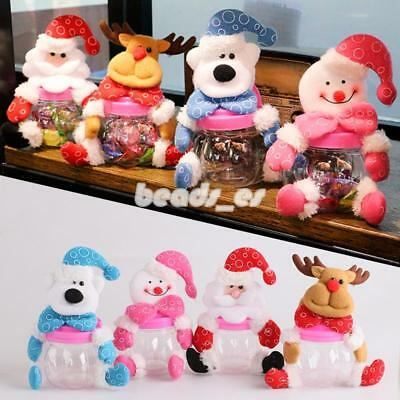 Cute Christmas Candy Box Christmas Sweet Gift for Children Home Decoration