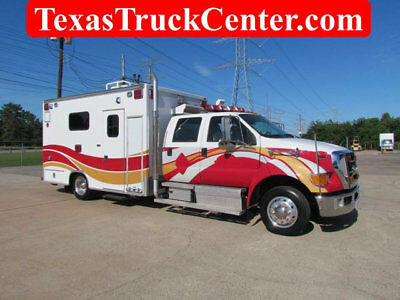 2008 Ford F650 Crew Cab / Ambulance Body / (3) in stock