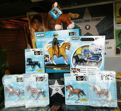 NIB Breyer ELVIS PRESLEY Memphis Graceland Stablemate Set Collectors Edition MOC
