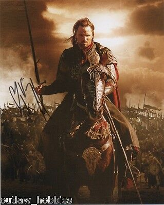 Viggo Mortensen Lord of the Rings Autographed Signed 8x10 Photo COA