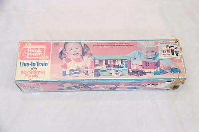 Think & Learn Live-in Train with MacMagnet Family #12386
