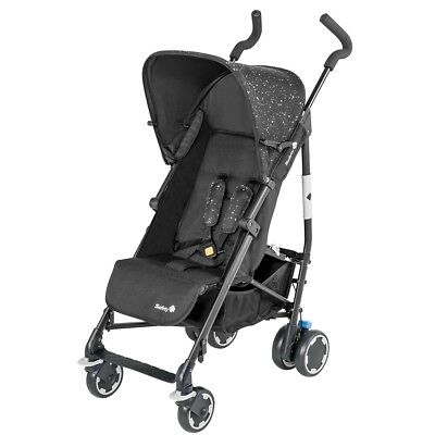 Safety 1st Baby Stroller Pushchair Buggy Travel Compa City Black 1260323000