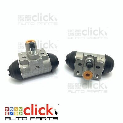 PAIR BRAKE WHEEL CYLINDERS for REAR HOLDEN RODEO RA HIGH RIDE SUSP 2003-2004