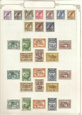 Portugese Colonies St. Thomas 1912-79  Colln On Yvert Leaves Mostly Mint