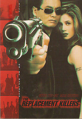 Promotional Postcard - THE REPLACEMENT KILLERS (1997) (Chow Yun Fat)