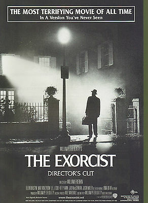 Promotional Movie Sheet - THE EXORCIST: Director's Cut (2000)