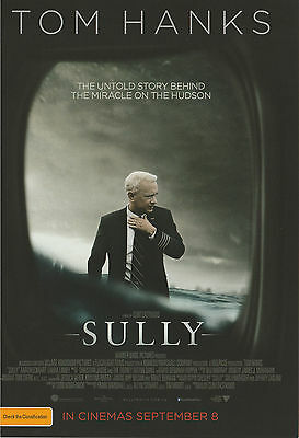 Promotional Movie Sheet - SULLY (2016) (Tom Hanks, Clint Eastwood)