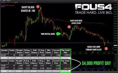 Fous 4  Swing Trade Core Strategy DVD [Trading Stocks Forex]