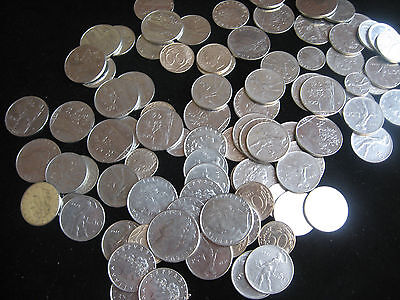 Mix Lot Italy Italian Coin Collection 93 Coins No Reserve L