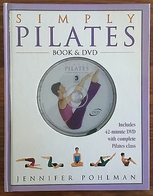 Simply Pilates by Jennifer Pohlman - Book and DVD