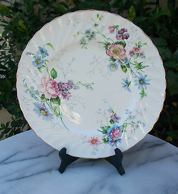 Crown Staffordshire  ENGLAND'S GLORY  Shabby Chic Vintage High Tea Plate #16333