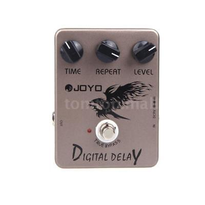 Joyo JF-08 Guitar Digital Delay Effect Pedal True Bypass X5I3