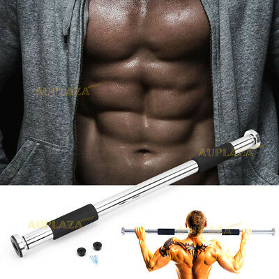 Door Chin Up Bar Portable Home Gym Pull Up Doorway Exercise Workout Fitness Abs