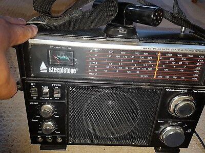 Steepletone Multi Band Reciever MW.FM.MB.AIR.LW.SW1.SW2.FM.