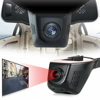 WiFi Hidden 1080P FHD CAR dash cam camera DVR video recorder iPhone Android APP