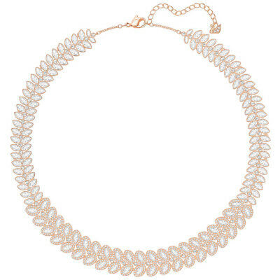 NEW Swarovski Baron All-Around Rose Gold Necklace