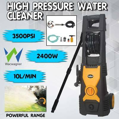 WACWAGNER 3500PSI High Pressure Washer Cleaner Water Electric Pump Hose Gurney