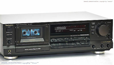 Technics RS-B965 High-End Cassette Tape Deck Top-Zustand!! Gewartet+1J.Garantie!