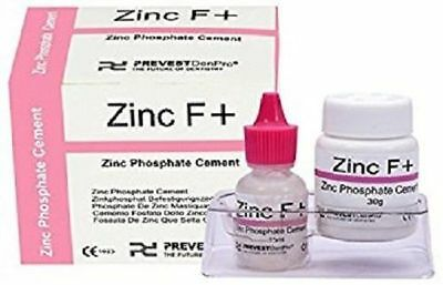 Zinc Phosphate Permanent Dental Cement Tooth Filling Fixation Powder Liquid