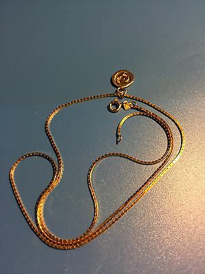 14ct / 585 Yellow Gold Necklace And Pendant