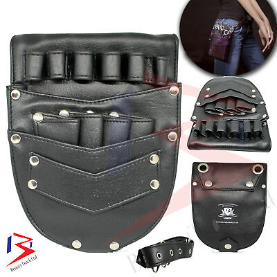 Professional Barber Salon & Shears Hairdressing Holster Pouch With Rivet Clips