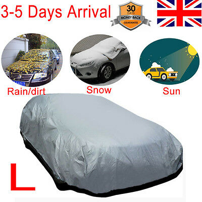 Extra Large Full Car Cover UV Protection Waterproof SUN SHADE Indoor/Outdoor L