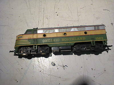 HO Scale American diesel locomotive suddenly stopped – mik20