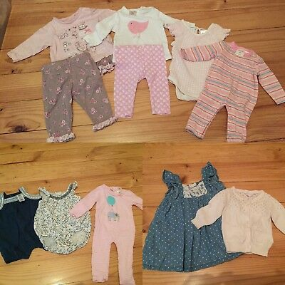Bulk Baby Girl Clothes Spring/summer Size 000 0-3mths Seed Country Road Gap