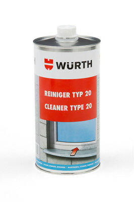 WÜRTH 1L Plastic Cleaner Cleaner PVC Cleaner Type 20 Top NEW
