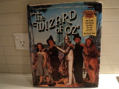 The Wizard of Oz 50th Anniversary Edition book with original scripts & songs 198