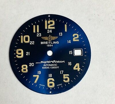 Genuine Breitling Blue Dial 400.c219 For Superocean Automatic 1000M / 3300Ft