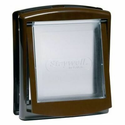 Petsafe Staywell Original Pet Cat / Dog Door - Small Brown